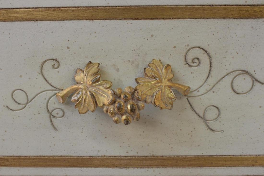 Painted Decorator Chest - 5