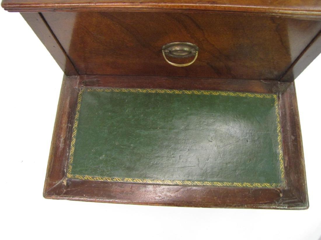 Antique English Mahogany Library Step - 2