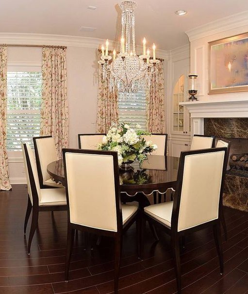 Swaim Dining Room Group, Eight Chairs