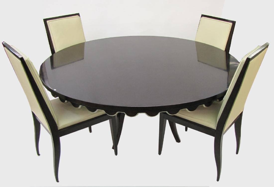 Swaim Dining Room Group, Eight Chairs - 5