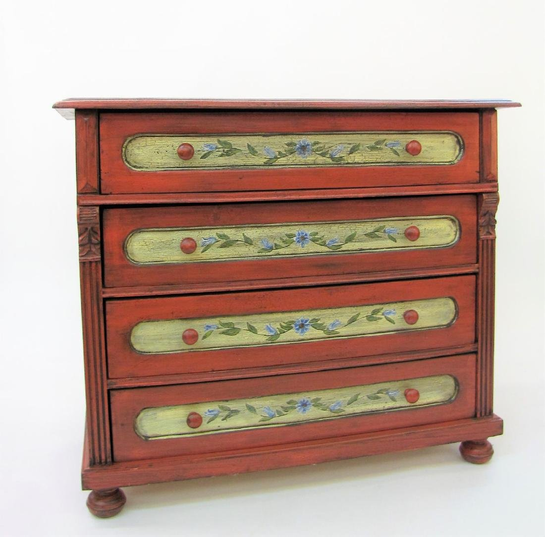 Painted Antique Style Chest
