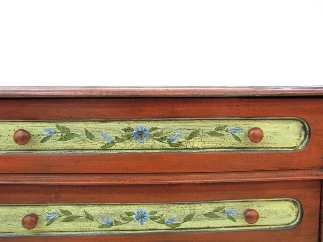 Painted Antique Style Chest - 4