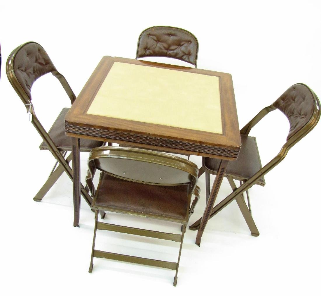 Clarin Chairs, Card Table