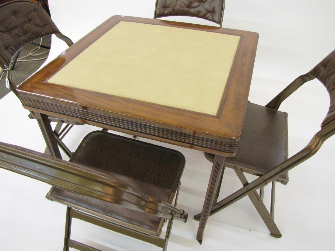 Clarin Chairs, Card Table - 2