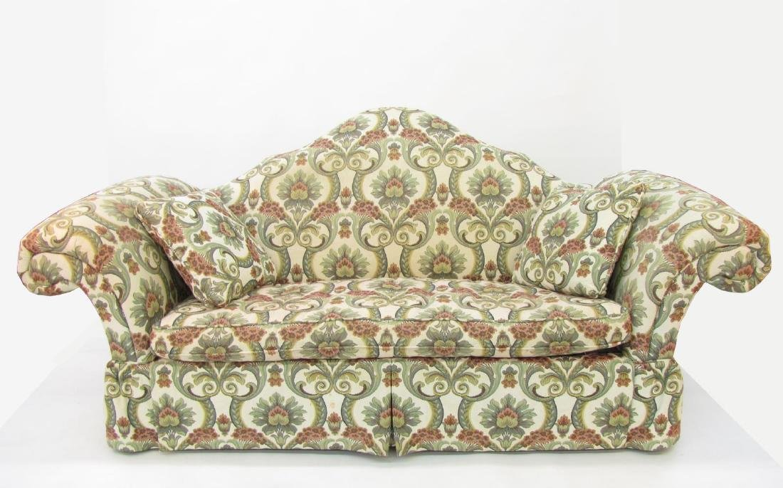 Upholstered Decorator Sofa
