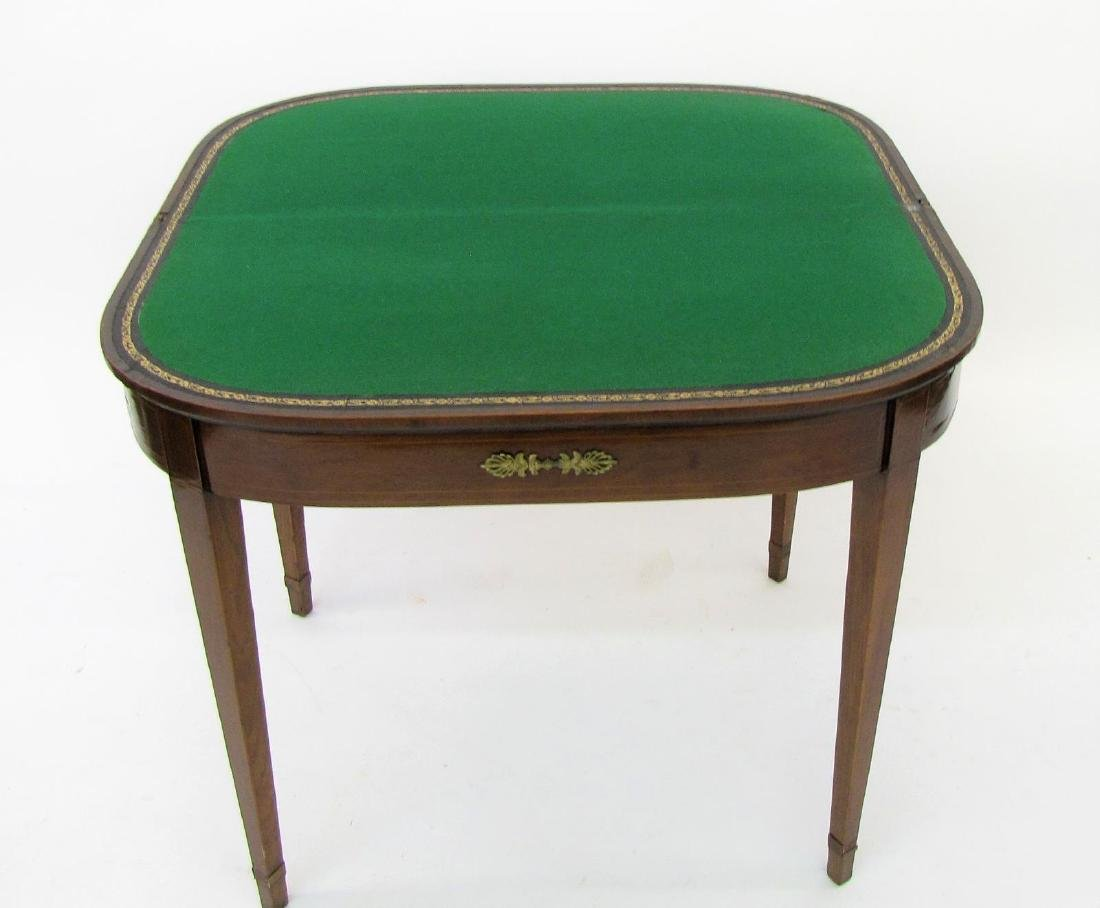 Tilt Top Gate Leg Game Table - 2