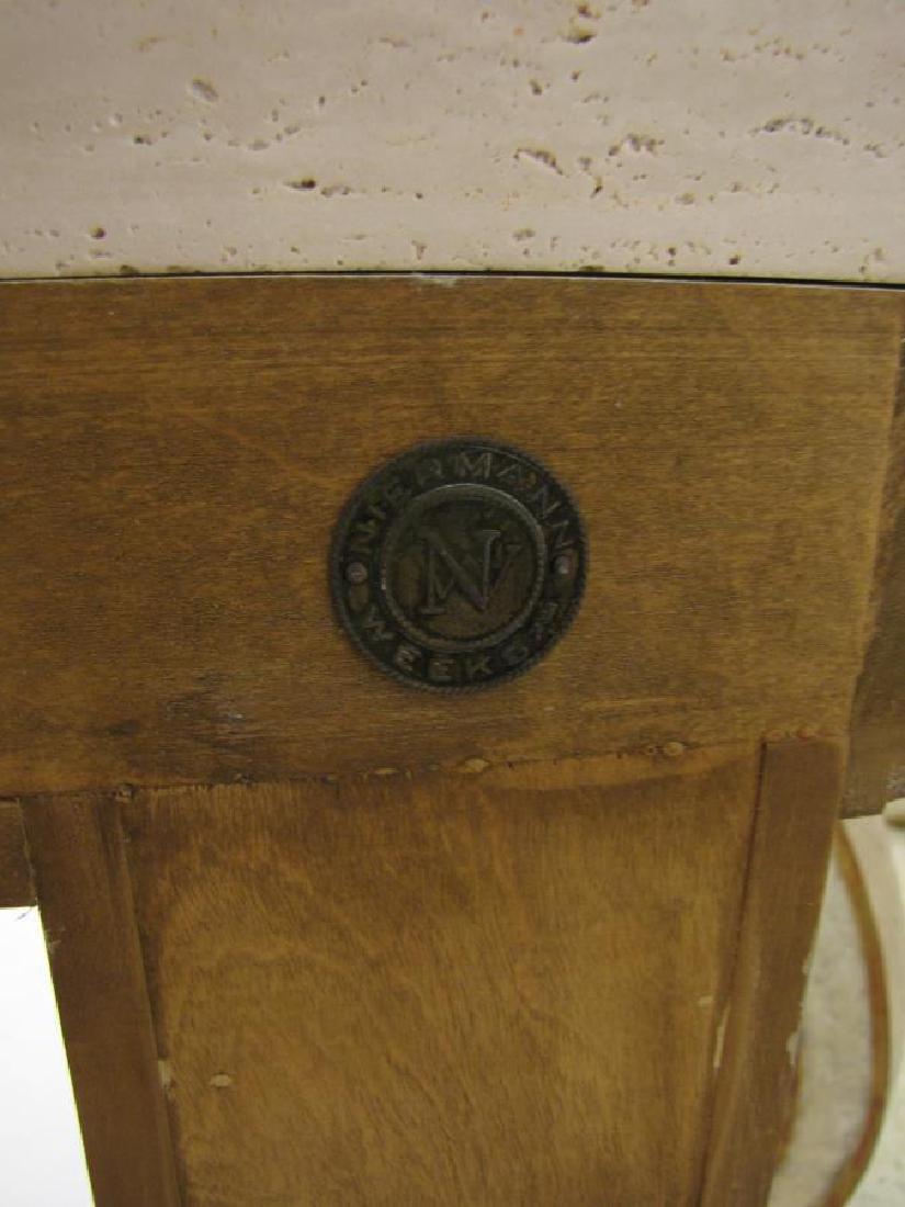 Pair of Neo-Classical Niermann Weeks Blenheim Cons - 10