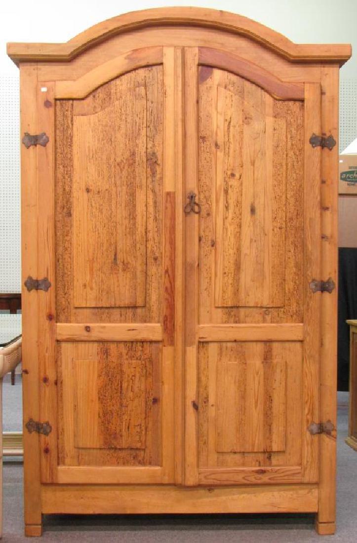 Pine Vintage Style Armoire