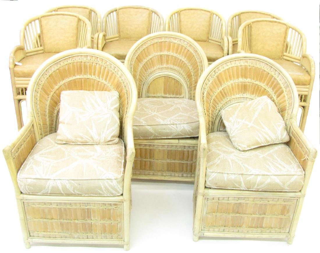 Fort Smith and Shelby Williams Chairs, Barstools