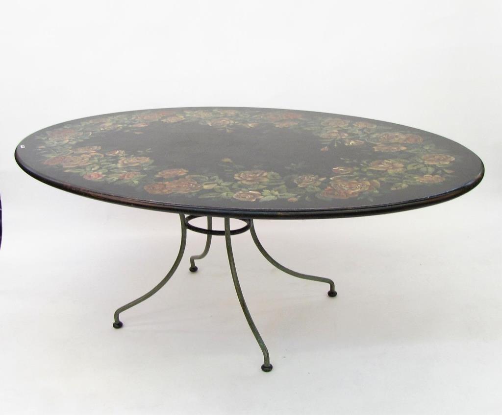 Patina Italia Oval Dining Table