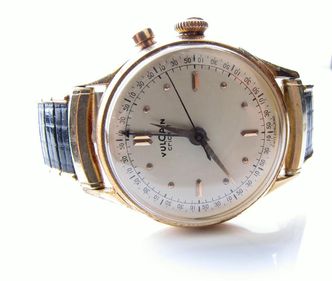Vintage Vulcain Cricket Men's Wristwatch