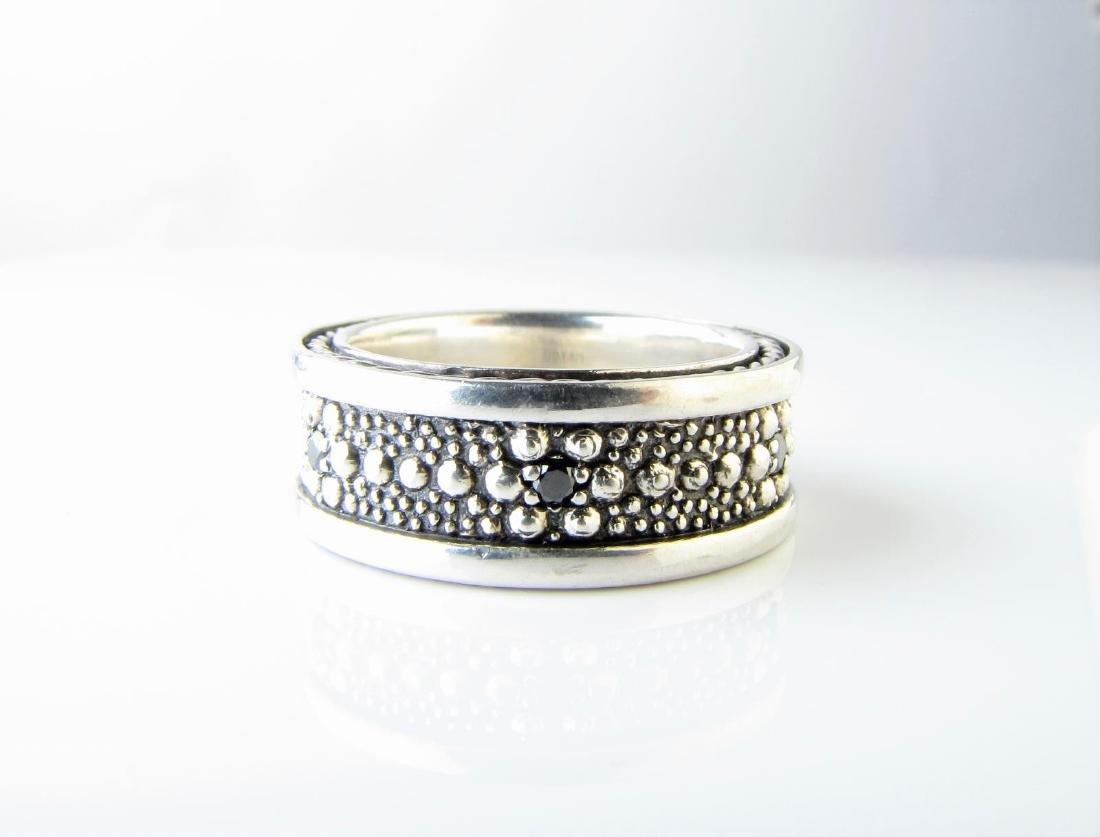 David Yurman Gentleman's Band Ring, Sterling