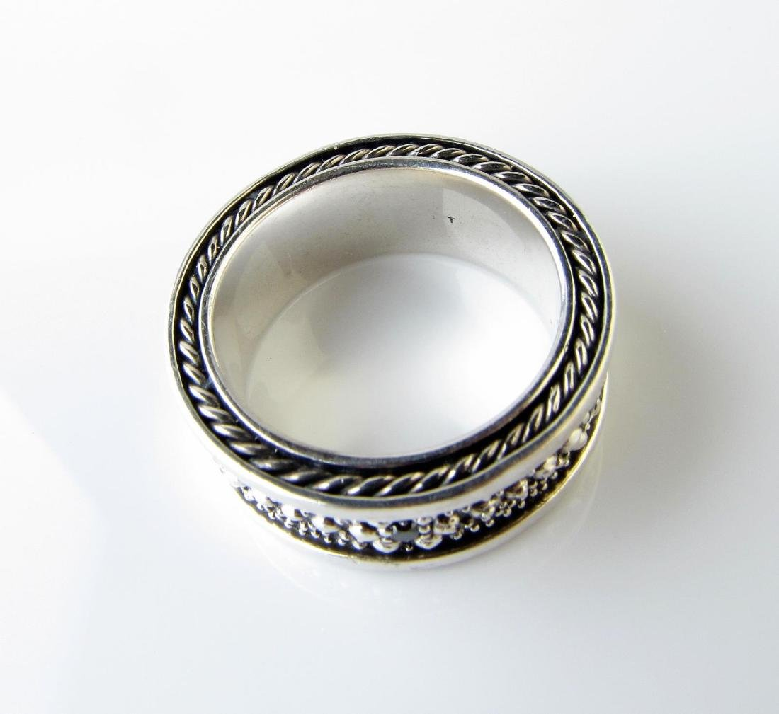 David Yurman Gentleman's Band Ring, Sterling - 2