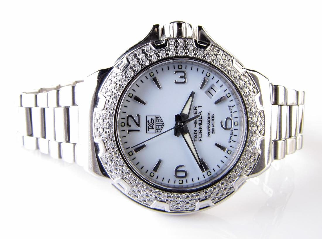 Tag Heuer Lady's Diamond Formula 1 Watch - 2