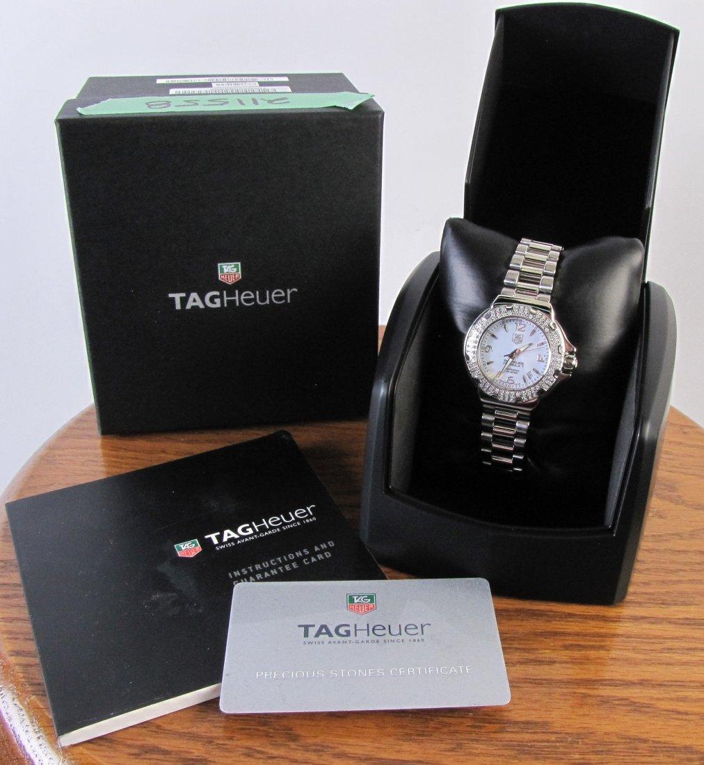 Tag Heuer Lady's Diamond Formula 1 Watch - 3