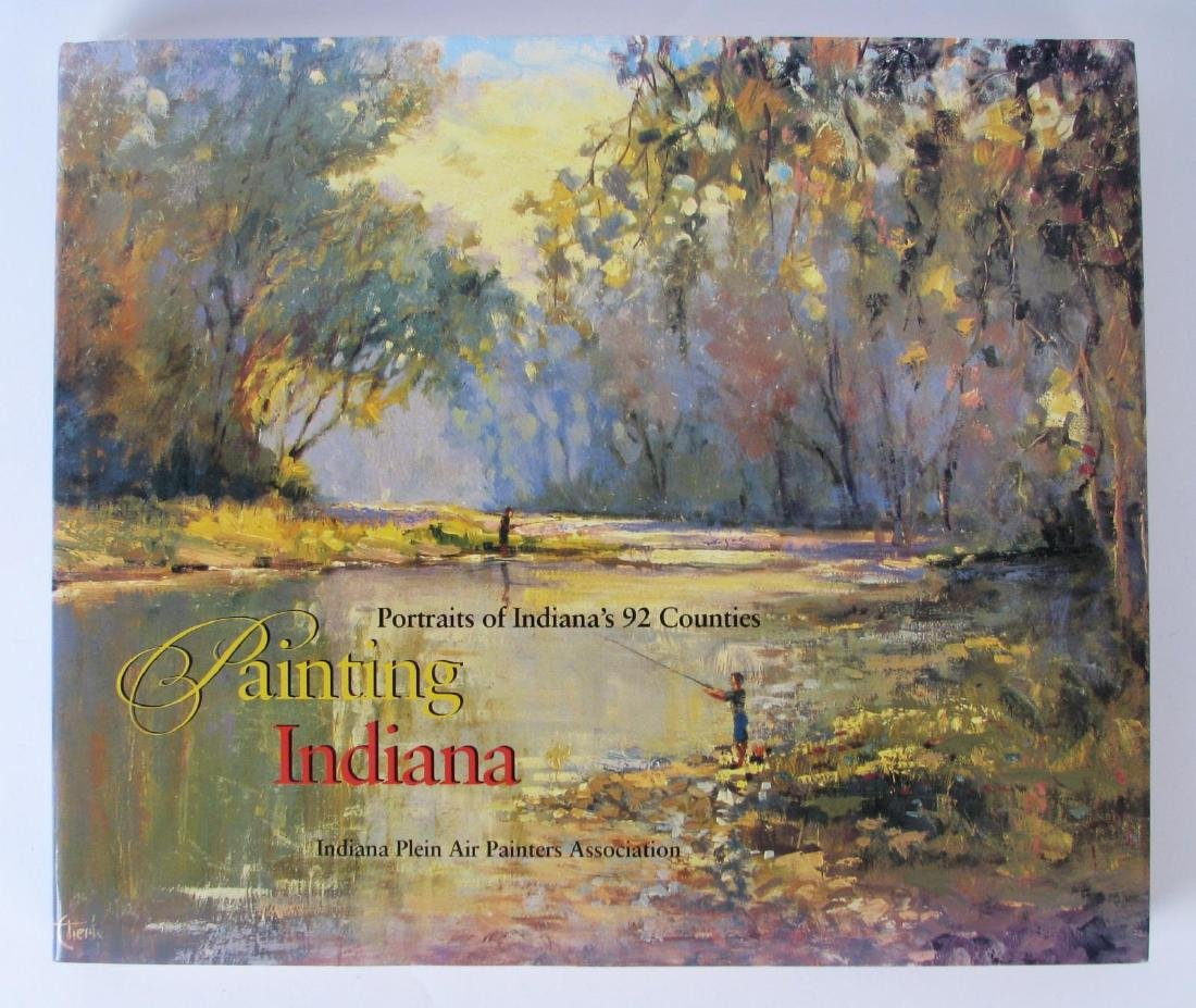 """Painting Indiana"" Hardcover Book"