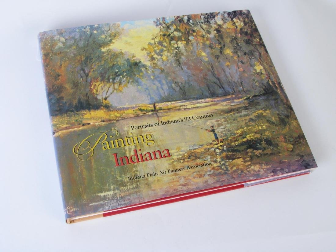 """Painting Indiana"" Hardcover Book - 2"