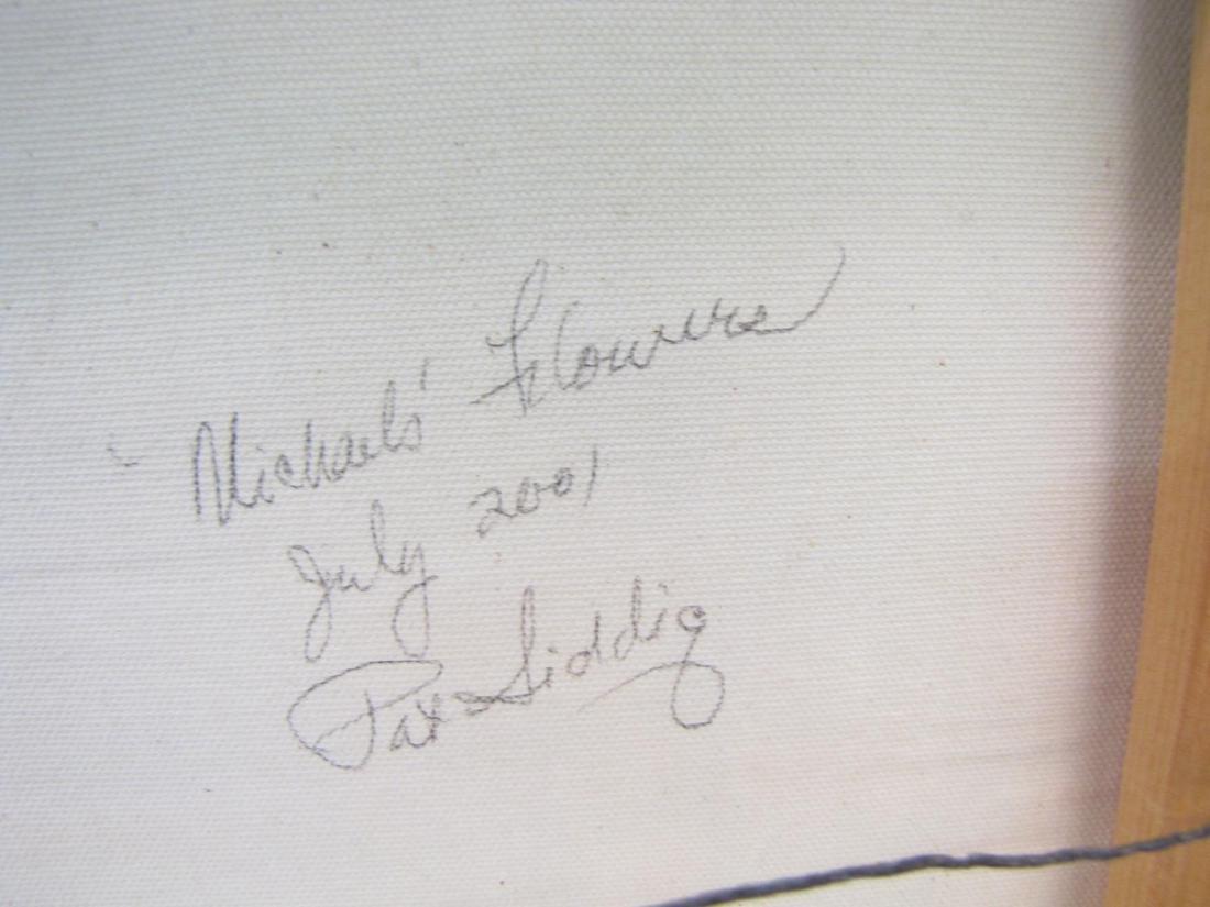 """Pat Foley Siddiq 24x18 O/C """"Michael's Flowers"""" - 5"""