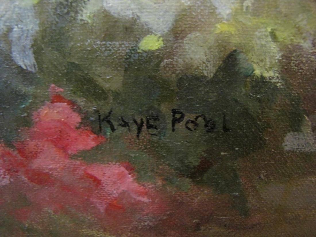 Kaye Pool 18x24 O/C Michael's Flower Shop - 3