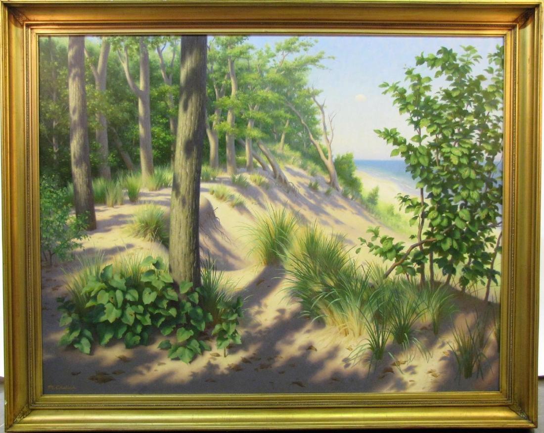 Michael Chelic 41x53 O/C Indiana Dunes