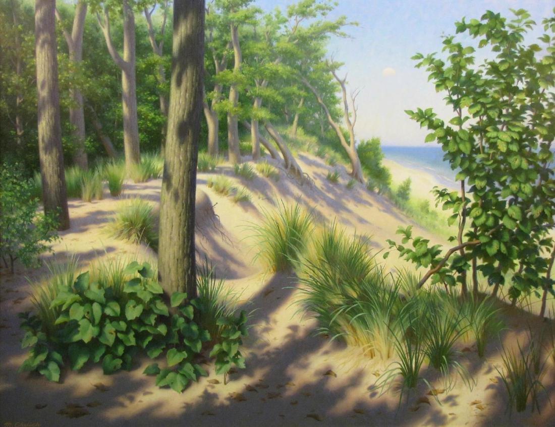 Michael Chelic 41x53 O/C Indiana Dunes - 2