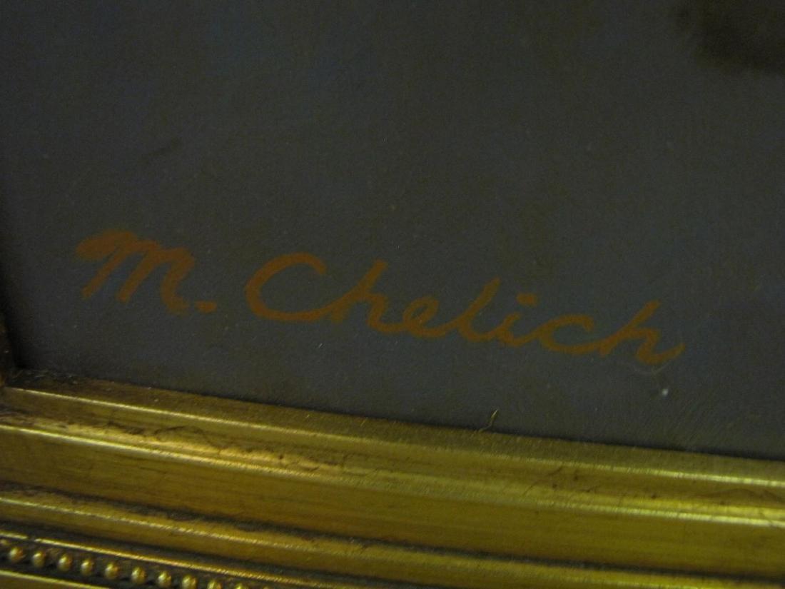 Michael Chelic 41x53 O/C Indiana Dunes - 3