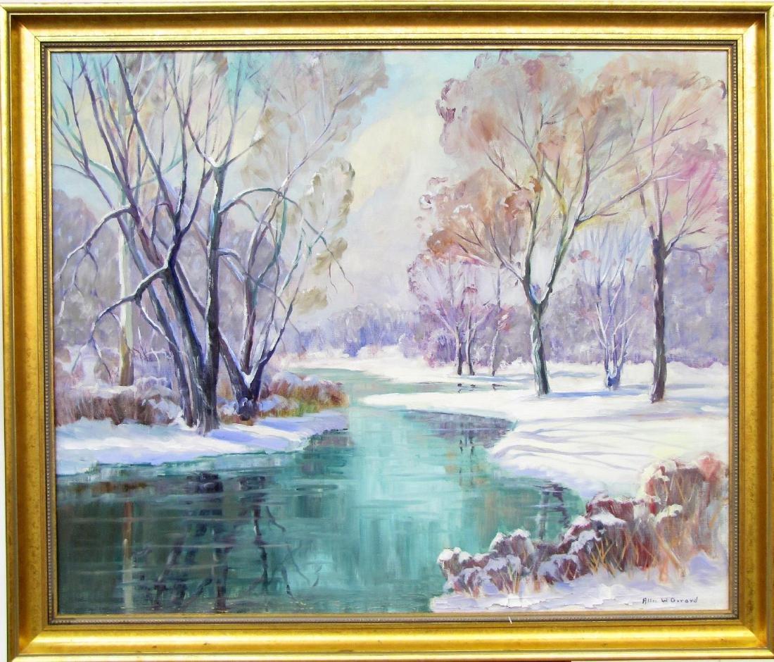 Allee W. Gerard 30x36 O/C Winter Pond