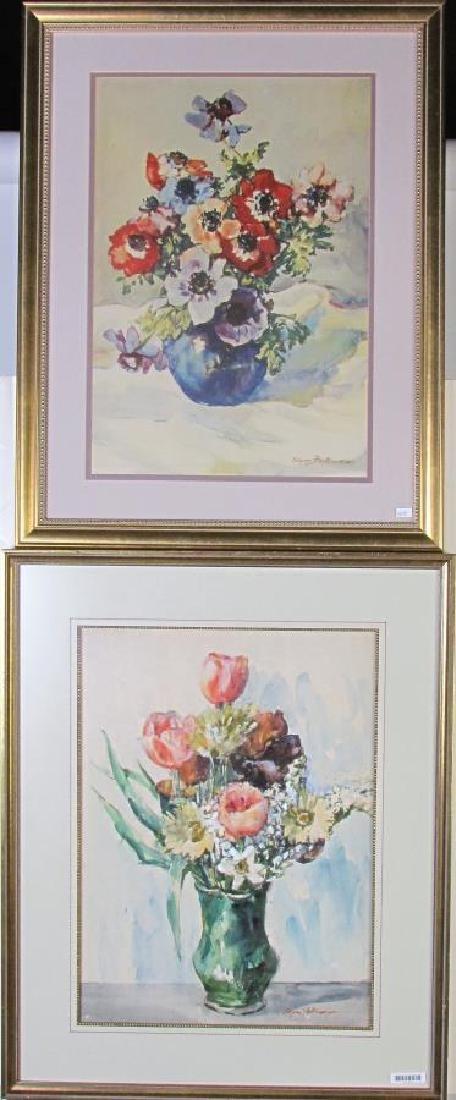 J Edgar Forkner (2) WC Floral Still Lifes
