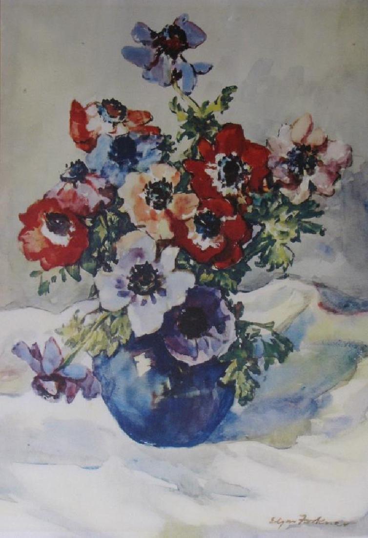 J Edgar Forkner (2) WC Floral Still Lifes - 2