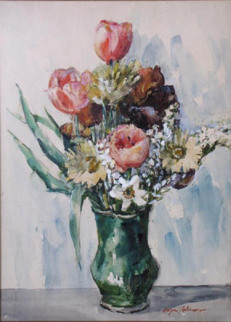 J Edgar Forkner (2) WC Floral Still Lifes - 3