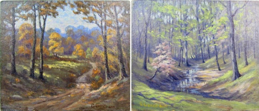 George Lienemann 10x11.75 O/B Two Seasons