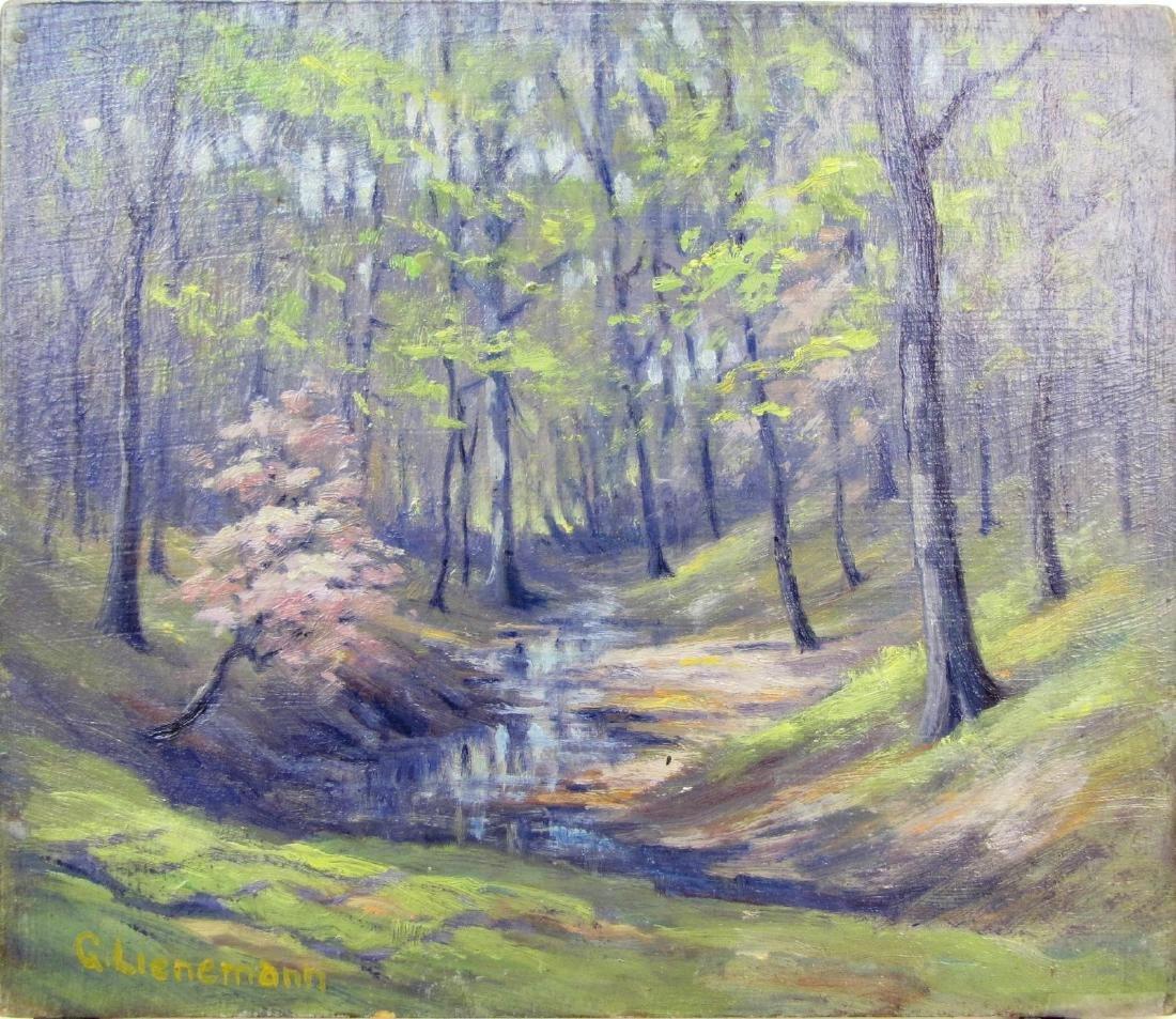 George Lienemann 10x11.75 O/B Two Seasons - 3
