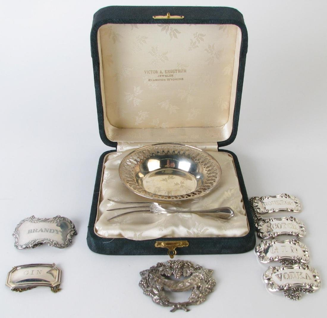 Group of Sterling and Silverplate