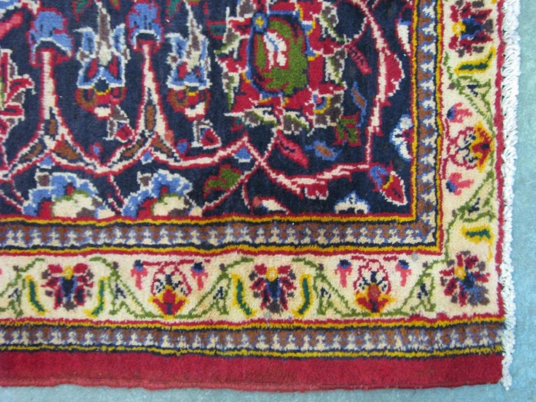 Handmade Kashan Room Size Rug - 2