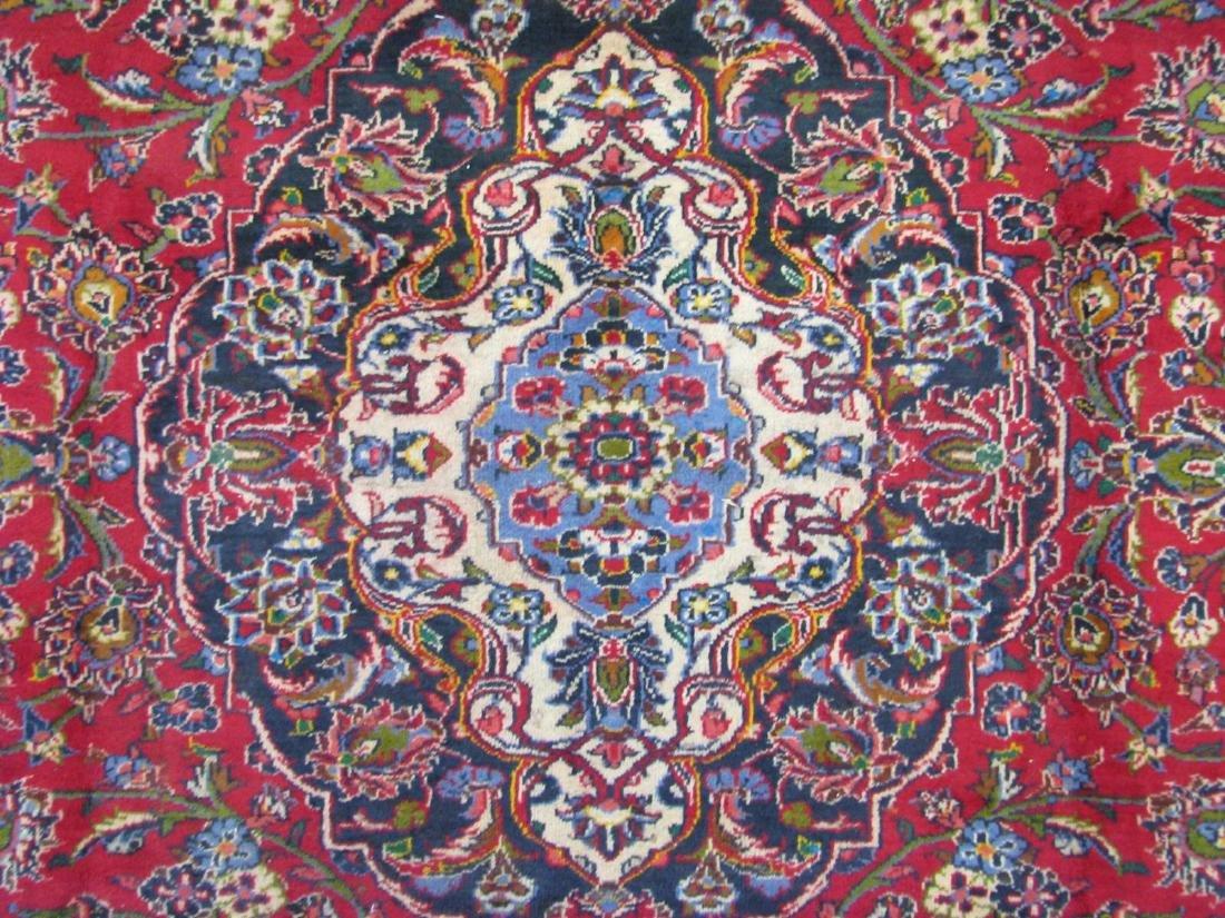 Handmade Kashan Room Size Rug - 3