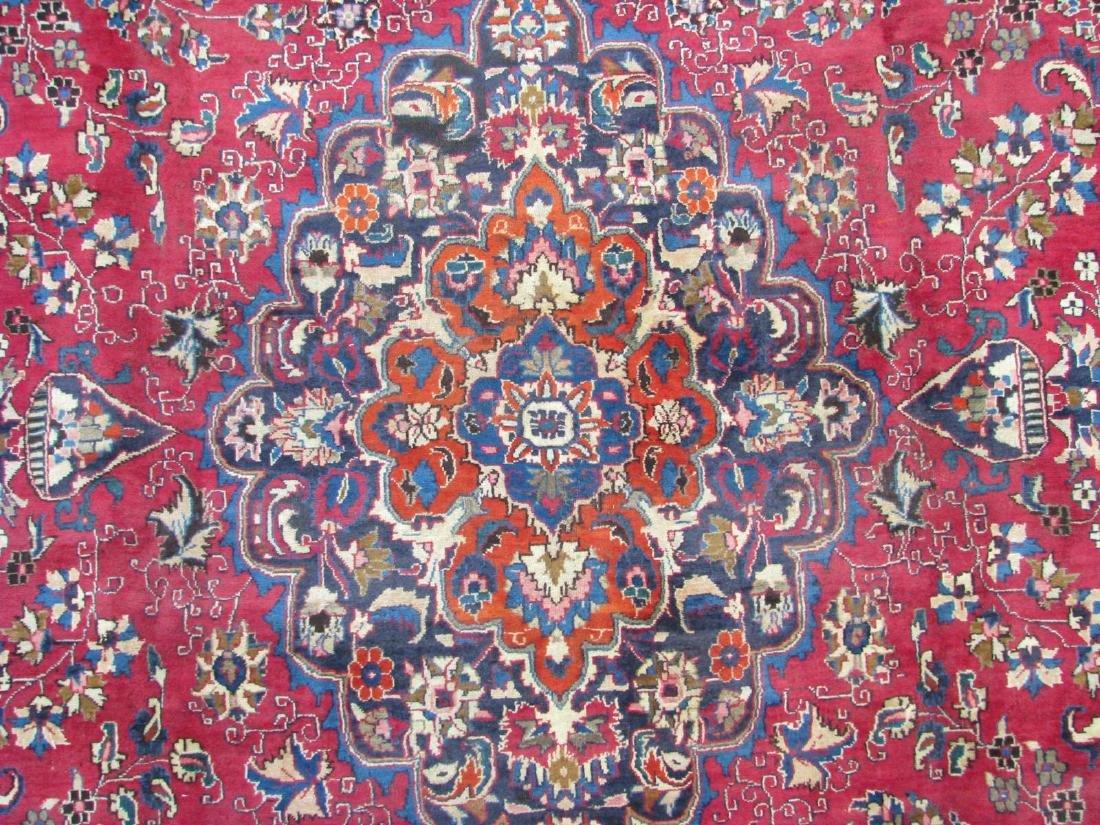 Handmade Mashad Room Size Rug - 3