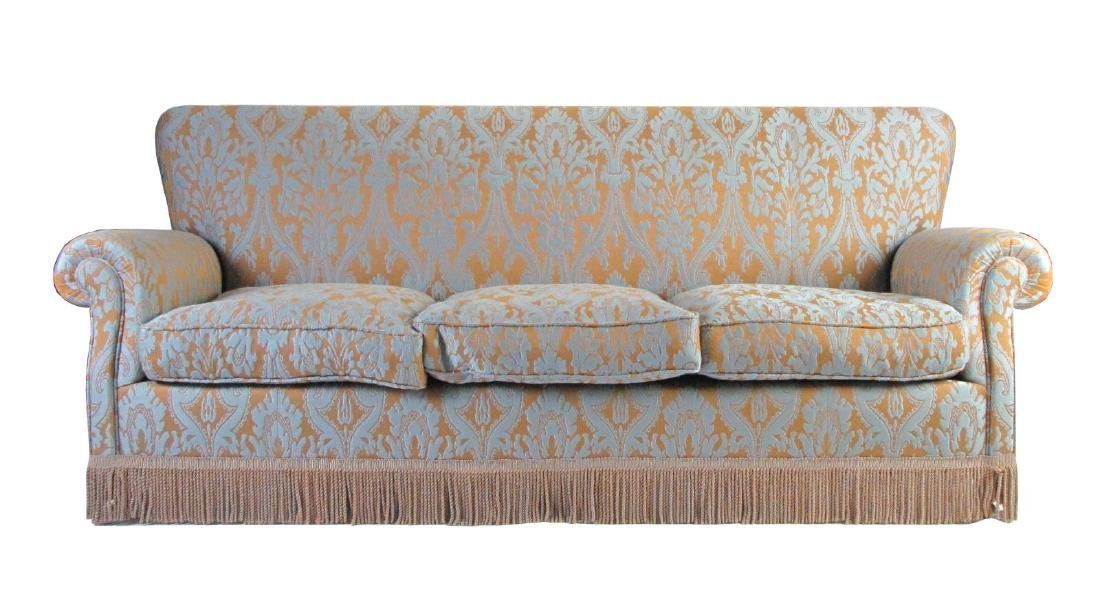 Fine Upholstered Casual Sofa