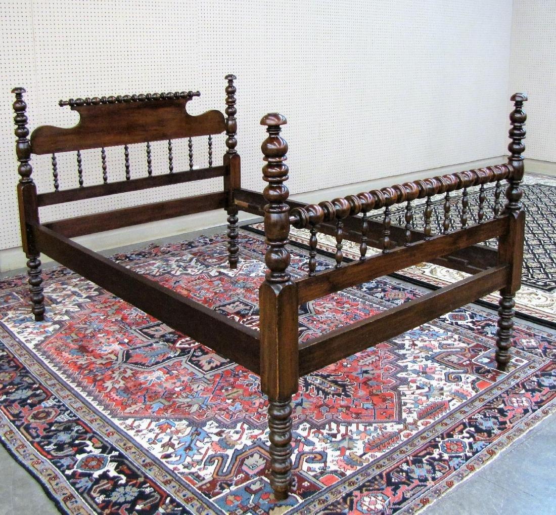 Antique Spool Bed