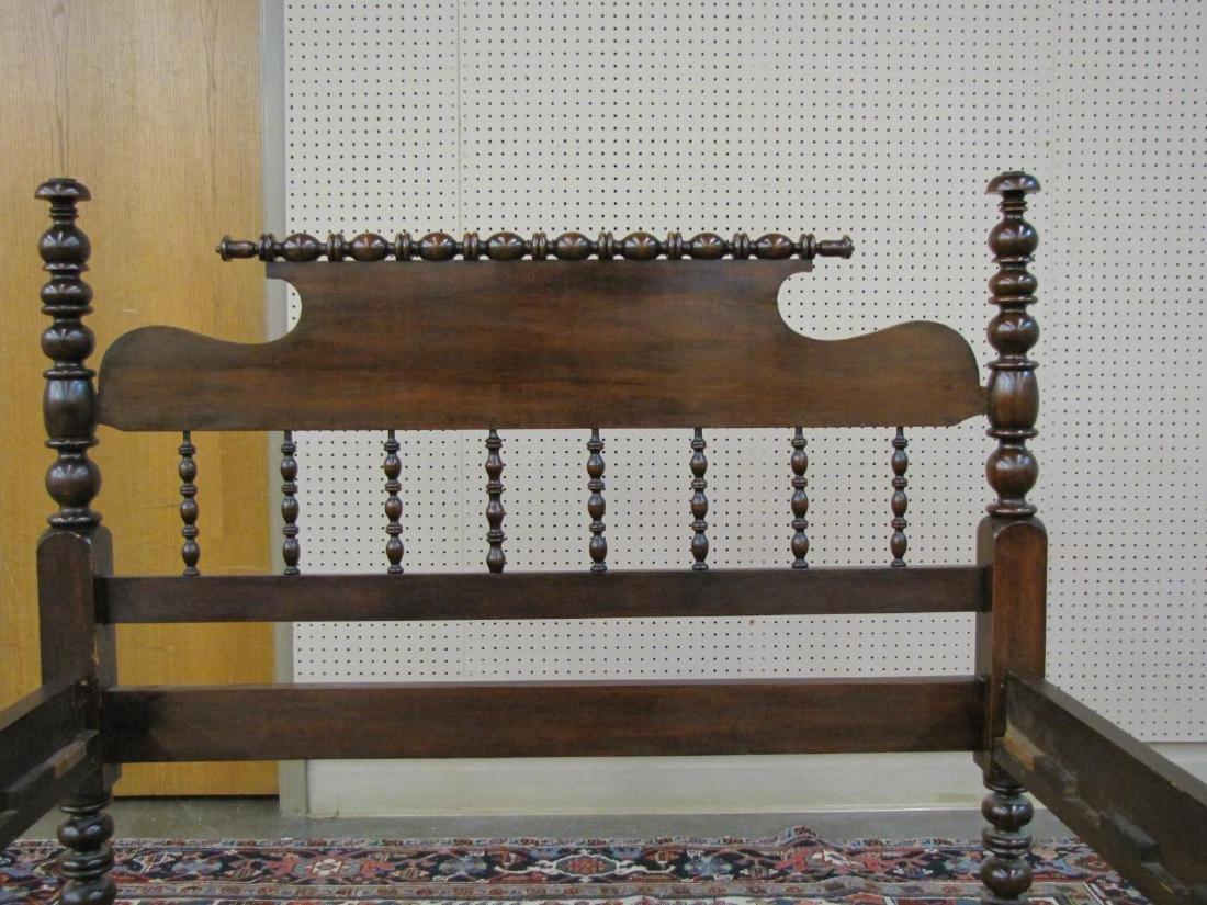 Antique Spool Bed - 2