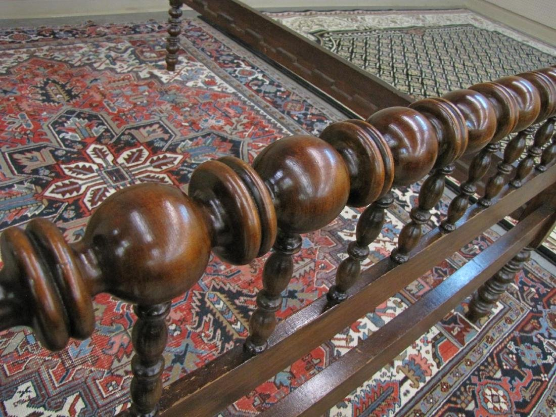 Antique Spool Bed - 4