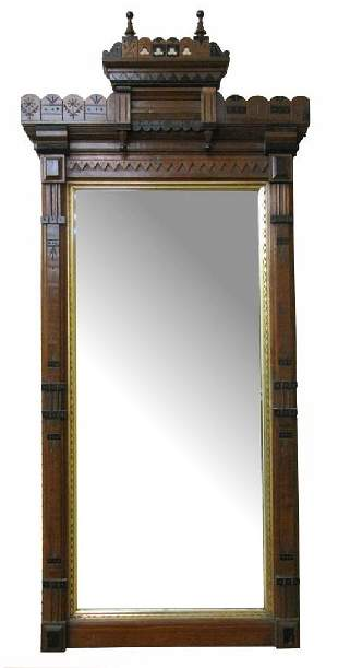Antique Eastlake Wall Mirror