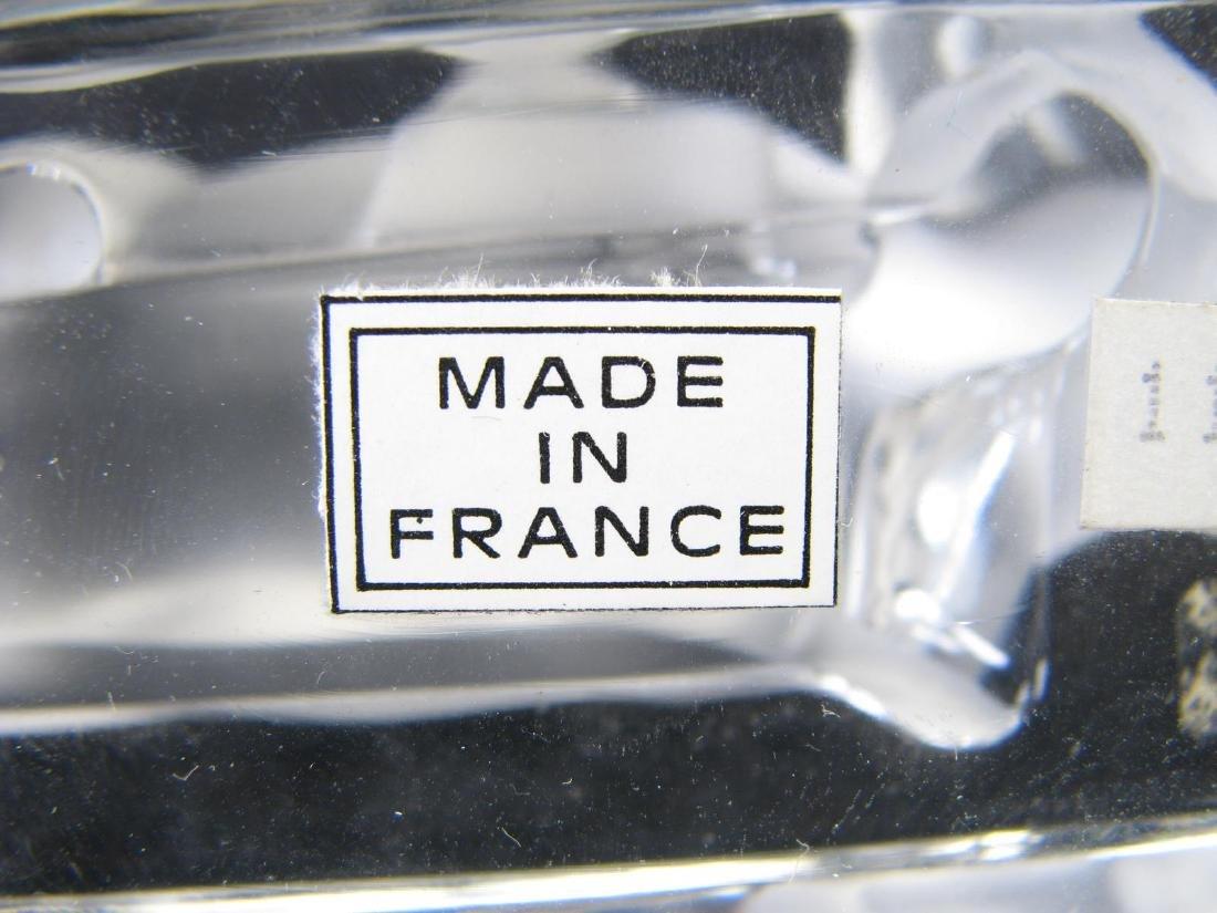 Lalique Crystal 'Taureau' and Durand Eagle Figure - 3