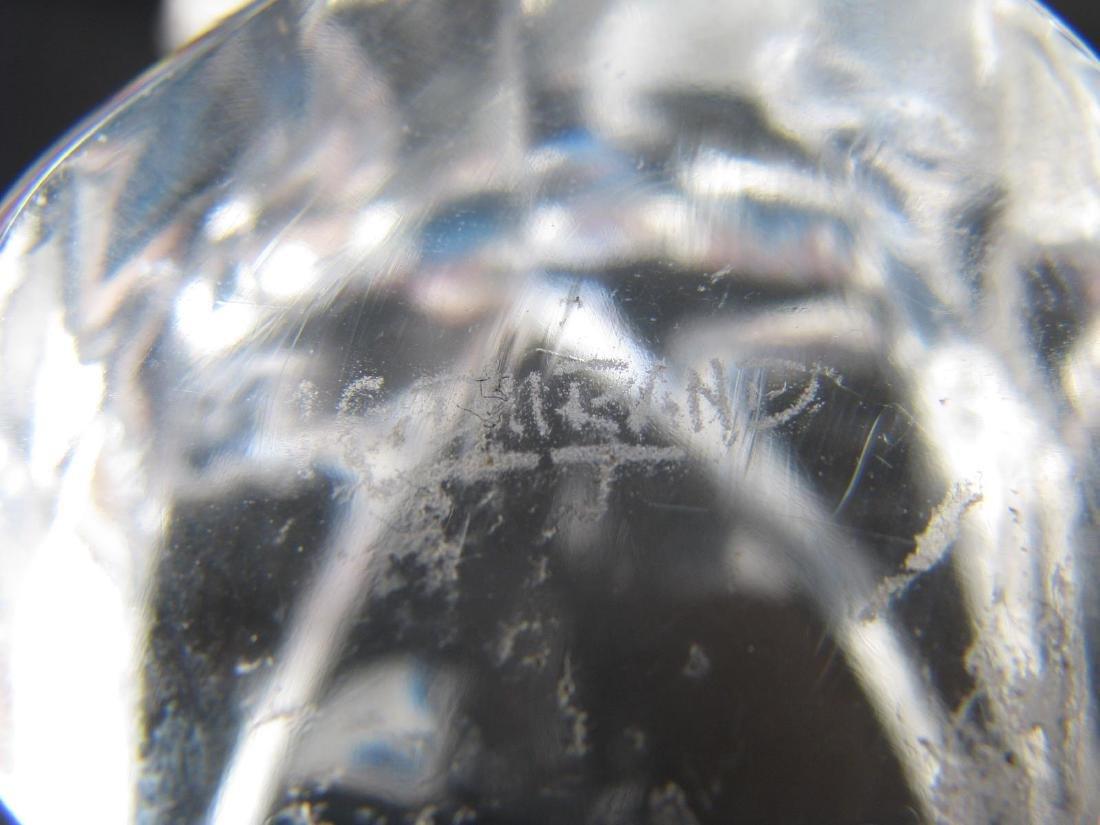 Lalique Crystal 'Taureau' and Durand Eagle Figure - 4