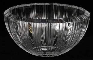 Tiffany and Co Atlas Crystal Bowl
