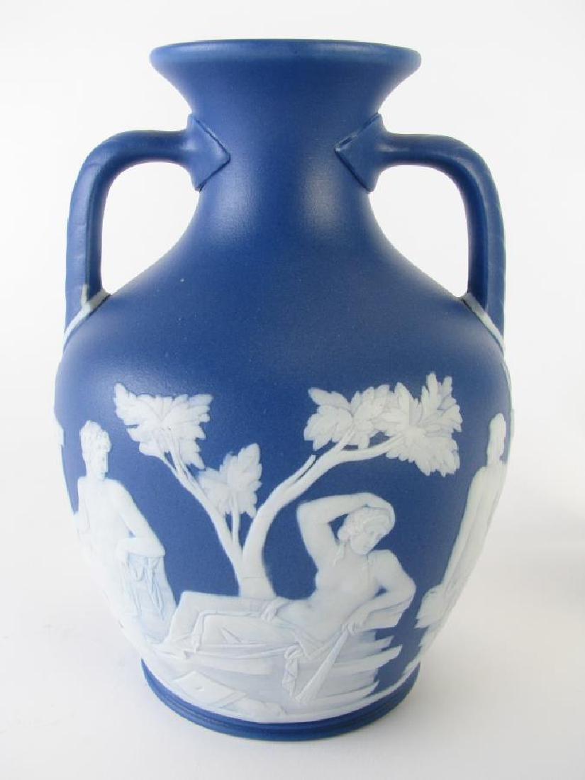 Group of Wedgwood Blue Jasperware Porcelain - 2