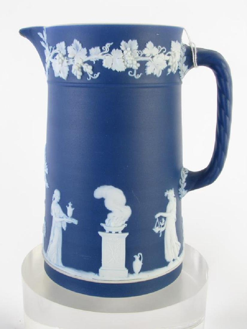 Group of Wedgwood Blue Jasperware Porcelain - 4