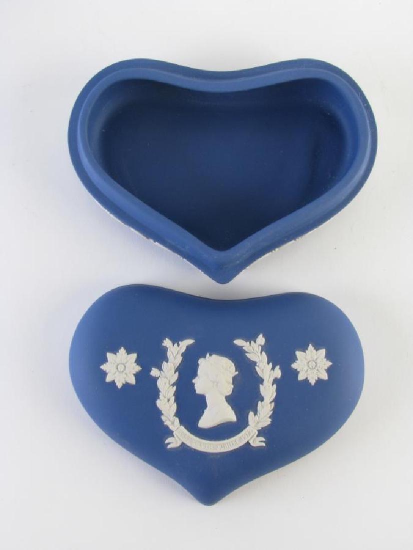 Group of Wedgwood Blue Jasperware Porcelain - 5