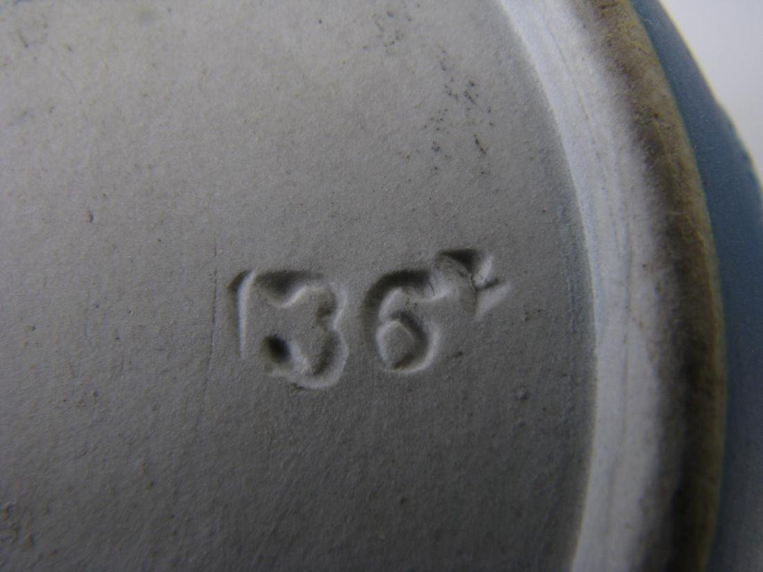 Group of Wedgwood Blue Jasperware Porcelain - 8