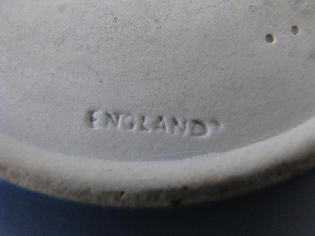 Group of Wedgwood Blue Jasperware Porcelain - 9