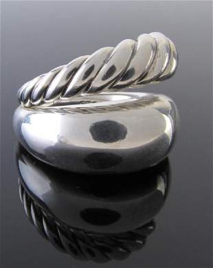 David Yurman Sterling Pure Form Ring